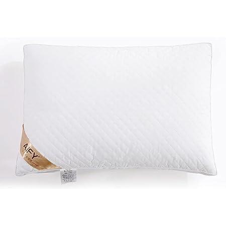 AIFY 枕 ホテル仕様 柔らかい枕 寝心地良い枕 横向き対応 高さ調節可能 安眠 まくら 丸洗い可能 立体構造 43×63cm ホワイト