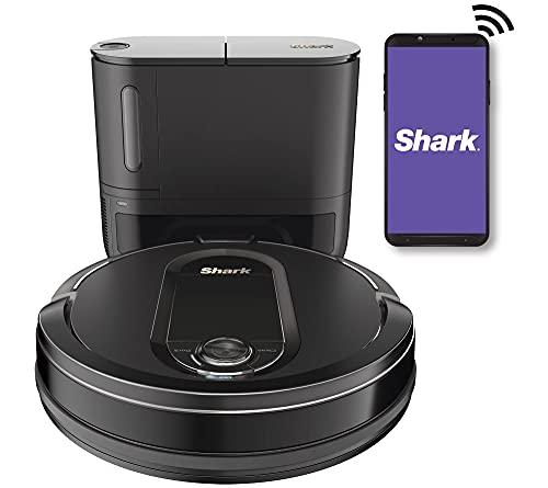 Shark IQ Wi-Fi Robot Vacuum w/ Self-Empty Base &...