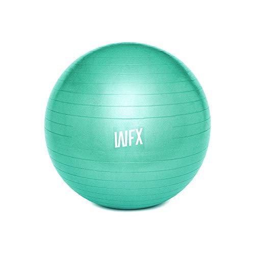 #DoYourFitness Gymnastikball + Luftpumpe - Sitzball in 65cm - 75cm & 85cm - Sicherer Anti Burst Ball bis 150kg - Fitnessball & Balance Stuhl für Home Gym & Büro