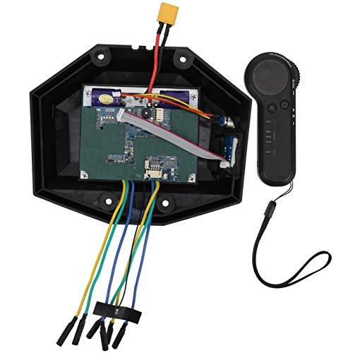 CHICIRIS Controlador de monopatín eléctrico de Cuatro Ruedas, 19x16x3.5cm Conjunto de Caja...