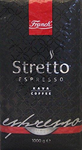 Franck Franck Espresso Stretto ganze Bohnen 1000g