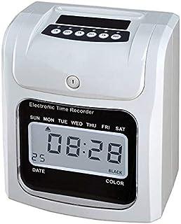 لوازم مكتب المدرسة على مدار الساعة آلة مراقبة الوجه للموظفين تحقق في العمل شاشة LCD وقت إلكتروني بطاقة ورقية إلكتروني آلة ...