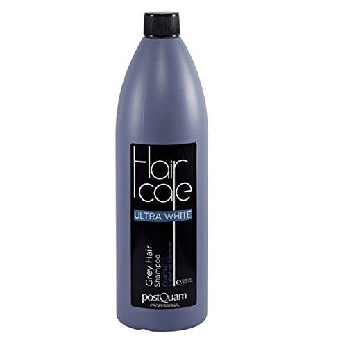 POSTQUAM - Hair Care | Champu pelo blanco hombre y mujer - 1000 ml