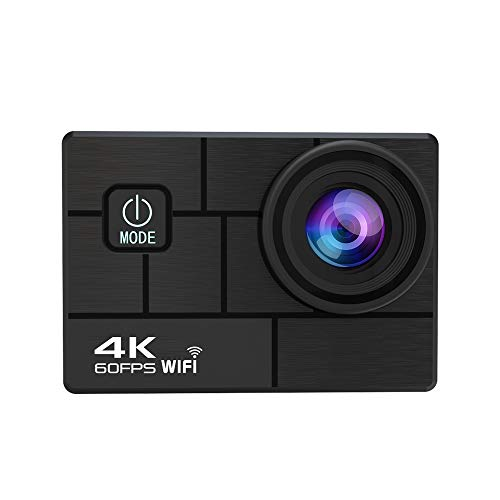 Sprugal Action Camera 4K || 24 MP || 4K HD 1080P || EIS - Electronic Image Stabilization || Waterproof || WiFi Action Camera - 4k 60fps with Remote Control