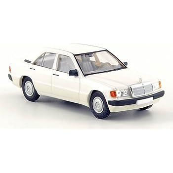Mercedes 190E 1984 W201 weiß Modellauto 1:43 Maxichamps
