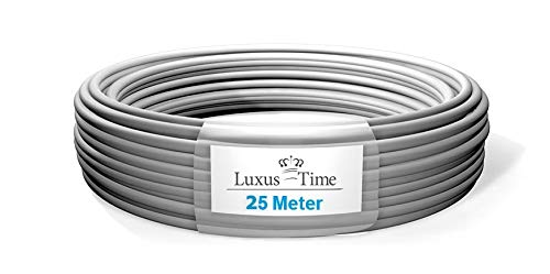 NYM-J 3x1,5 mm deutsche Qualitätsware Elektro VDE Installationsleitung 1-500m Mantelleitung Kabel 3 Adrig (25m)