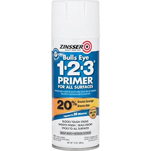 13 oz. Bull Eye 1-2-3 Primer Spray Paint [Set of 6]