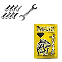ダイヤモンド (Diamond) HELLA TIGHT PHILLIPS HARDWARE 1.25 SILVER スケートボード ビス スケボー