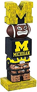 Team Sports America Tiki Totems (12 Inches, University of Michigan)