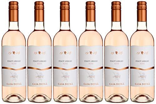 Cielo e Terra Casa Defra Pinot Grigio Rose IGT Colli Berici trocken (6 x 0.75 l)