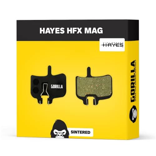 Hayes Bremsbeläge HFX-Mag HFX-9 MX-1 HFX-Nine für Fahrrad Scheibenbremse I Gesintert I Hohe Bremsleistung I Langlebiger & Passgenauer Bremsbelag