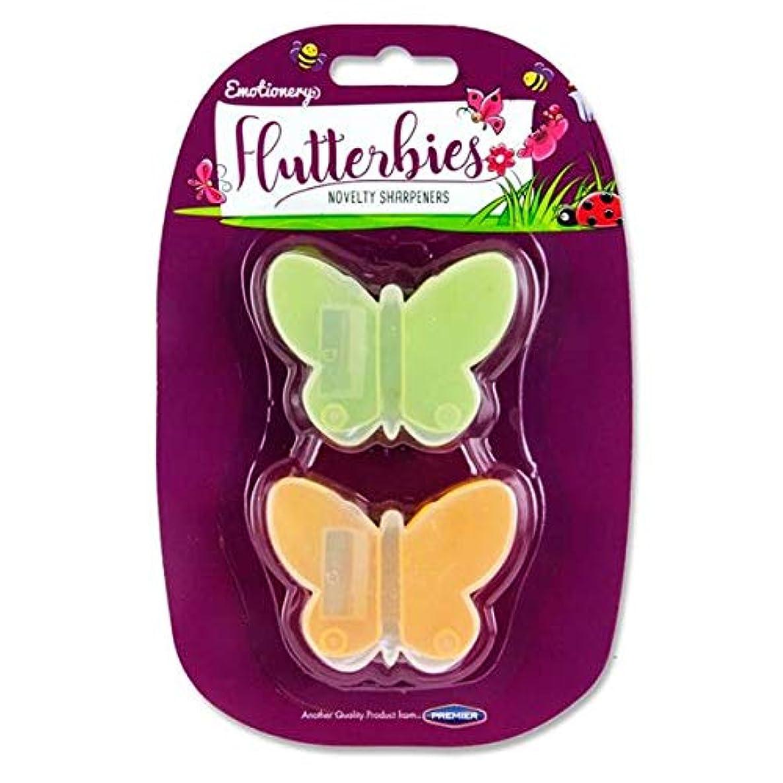 Premier Stationery P4215433 Emotionery 2 Sharpeners Flutterbies wqpf9768112979