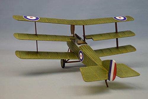 Dumas Sopwith Triplane 18' Model Airplane Kit -...