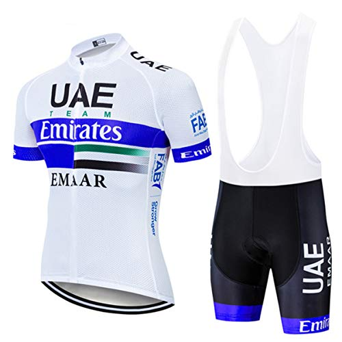 Hombre Culotte Ciclismo GelesCojín 9D Pantalones Cortos De Bicicleta Perneras Ciclismo Ropa De Ciclismo (Blue-A,M)