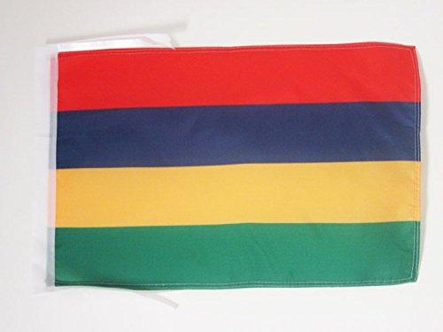 AZ FLAG Flagge Mauritius 45x30cm mit Kordel - Republik Mauritius Fahne 30 x 45 cm - flaggen Top Qualität