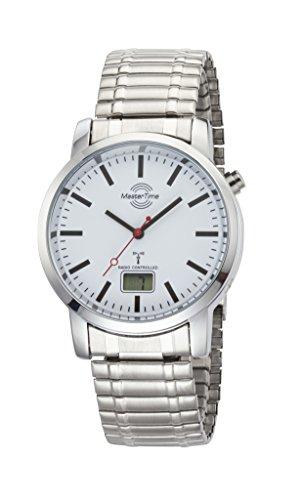 Master Time Funk Quarz Herren Uhr Analog-Digital mit Metall Armband MTGA-10590-10M