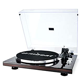 mbeat MB-PT-18K Bluetooth Turntable with Removable dust Cover, MMC Stylus, USB Recording, Tonearm Counterweight and Anti-Skating, Built-in Preamplifier (B07WWVWQJK) | Amazon price tracker / tracking, Amazon price history charts, Amazon price watches, Amazon price drop alerts