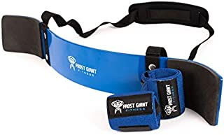 Heavy Duty Arm Blaster Pro + Bonus Wrist Wraps Support | Isolate Muscles for Maximum Strength. Perfect Bicep Curl Support for faster results. Biceps, Tricep & Upper Body Workout for arms