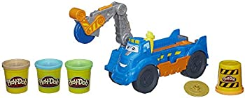 Play-Doh Buzzsaw Logging Truck Toy w/ 4 Non-Toxic Colors, 3-Ounce Cans