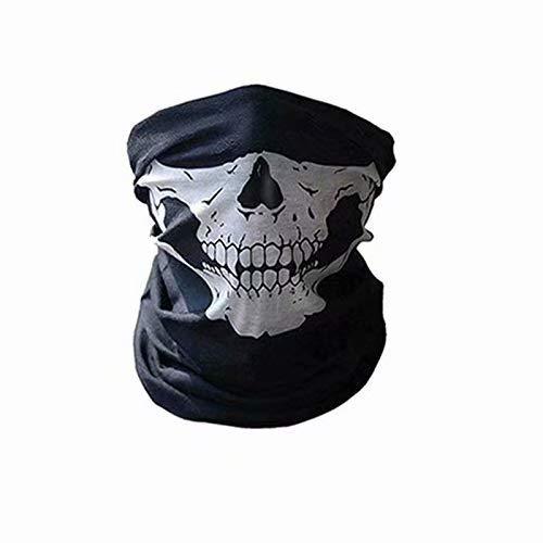 Ninjia - Pasamontañas unisex - Equipamiento deportivo antiviento y antipolvo - Máscara facial ajustable para equitación