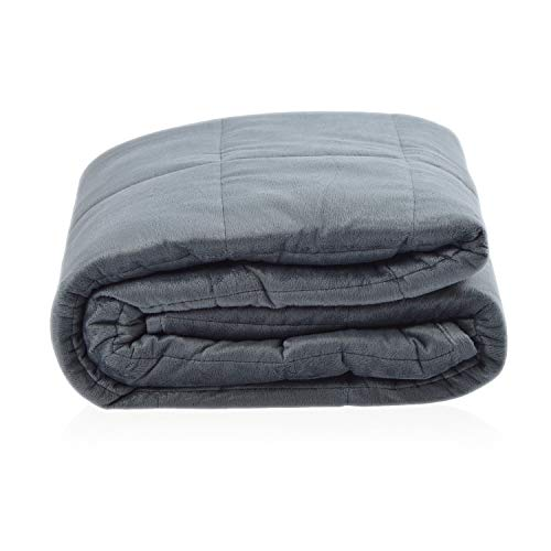 vendome Therapiedecke Gravitas Relax, weiche Gewichtsdecke für Erwachsene, 5,4kg schwere Bettdecke 120x180cm, Weighted Blanket, kuschelige Fleece Decke