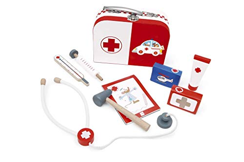 Scratch 6182517 - Arztkoffer, Verschiedene Spielwaren, 8-teilig