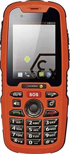 i.safe MOBILE IS320.1 Ex-geschütztes Handy Ex Zone 1, 21 6.1cm (2.4 Zoll) IP68, Wasserdicht, Staubd