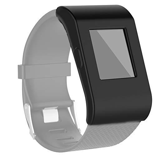 WANGZHEXIA Guscio Protettivo per Cassa dell'orologio in Silicone a Copertura Totale Fitbit Surge