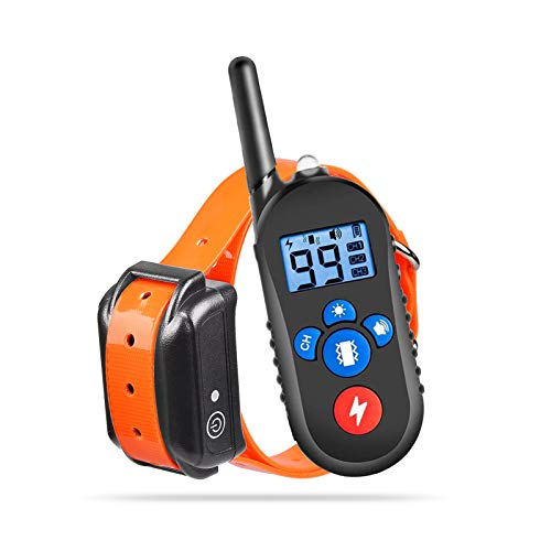 Dog Training Collar, Rechargeable Collar with...