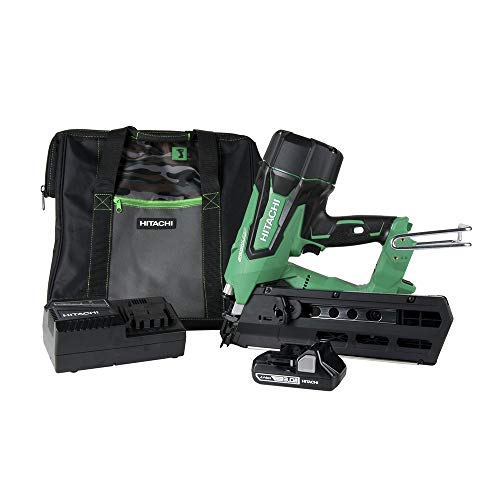 Hitachi NR1890DR 18V Cordless Brushless Plastic Strip 3-1/2' Framing Nailer...