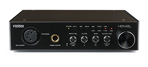 FOSTEX ヘッドホンアンプ D/A変換器内蔵 ハイレゾ対応 HP-A4BL