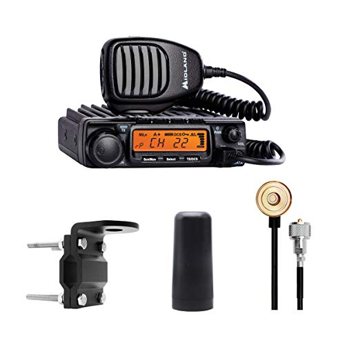 Midland 40 Watt MicroMobile Bundle Kit - MicroMobile 40 Watt GMRS Two-Way Radio with Roll Bar/Mirror Mount, Antenna Cable and 3dB Gain Antenna. Buy it now for 299.95