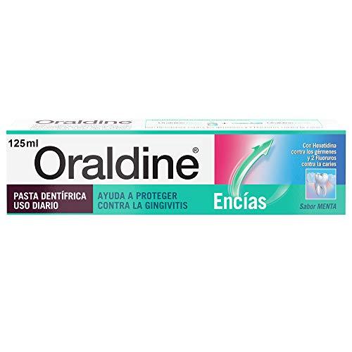 Oraldine Encías Pasta de Dientes de Uso Diario, Protege Contra la Gingivitis, Sabor Menta - 125 ml