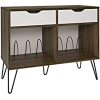 Novogratz Concord Turntable Stand with Drawers