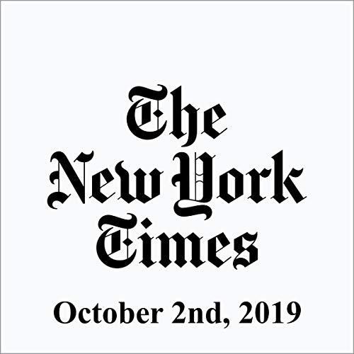 October 2, 2019 cover art