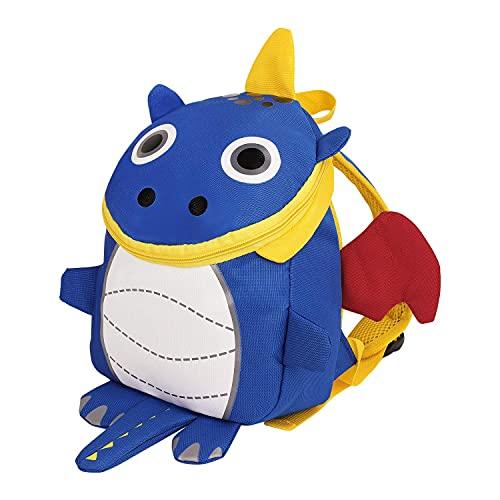 Mochila infantil con arnés antipérdida, para bebé, dinosaurio, mochila escolar, para niño, niña de 3 a 6 años, mini mochila de guardería preescolar