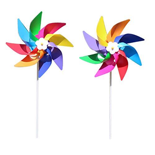 Lunji. Windmühle, Spielzeug für Kinder, Outdoor, Dekoration für Garten, Pflanzen