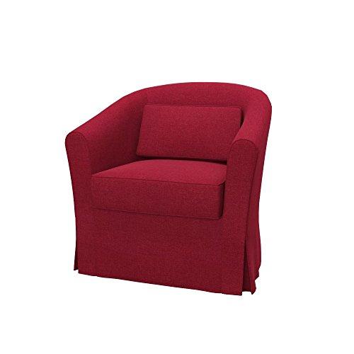 Soferia Fodera Extra Ikea EKTORP TULLSTA Poltrona, Tessuto Classic Red