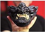 Best Japanese Mascaras - NOA Ghost Mask Warrior Character Masks Half Face Review