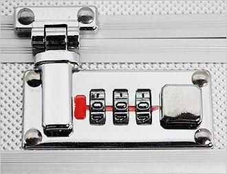 Werkzeugkoffer Werkzeug Koffer bestückt 51 Teile - Aluminium 39 x 29 x 11 cm - 3
