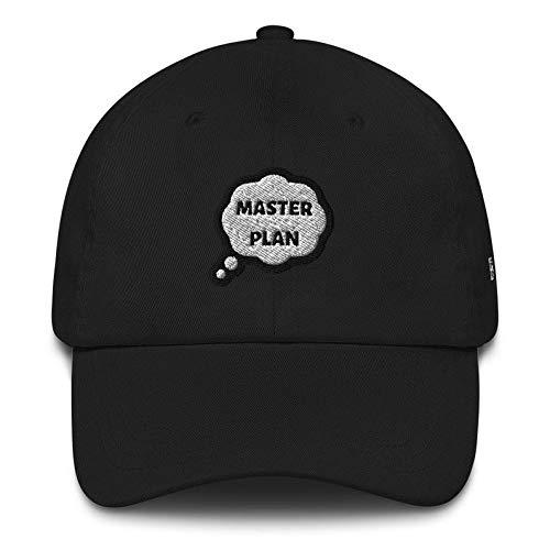N / A Chapeau de Soleil, Chapeau de Sport, Chapeau de Golf, Toutes Saisons Master Plan Casquette de Golf en Plein air Casquette de Baseball de Mode Chapeau de Papa en Coton