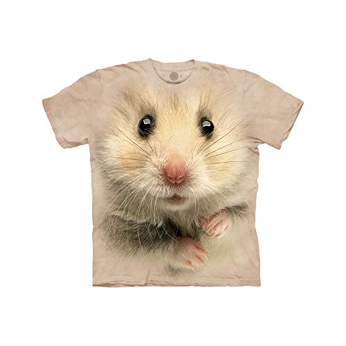 The Mountain boys Hamster Face T Shirt, Tan, Medium US