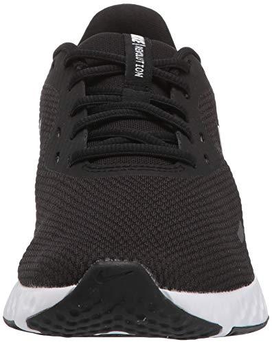NIKE Revolution 5, Zapatillas Mujer, Negro (Black White Anthracite BQ32), 37.5 EU
