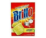 Brillo Stahlwolle Seife Pads 10ct Pack zitronengelb