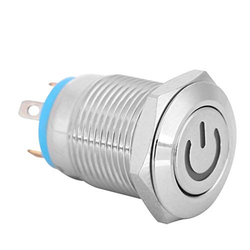Interruptor de botón Aplicaciones industriales de 12 mm para proyectos de electrónica de construcción(12V)