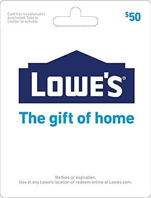 Lowe's $50 Gift Card
