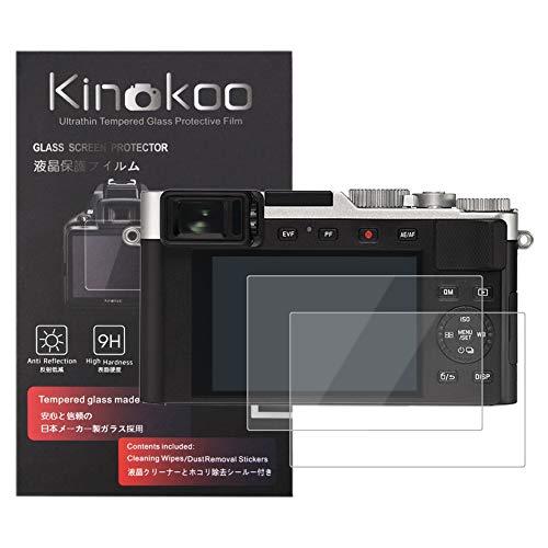 kinokoo Película de Vidrio Templado para Leica D-Lux/D-Lux
