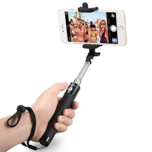 TaoTronics Palo Selfie Bluetooth Portatíl Extendible Para Selfie/Autorretrato Con Disparador...