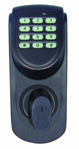 Design House 702548 Keypad Deadbolt, Brushed Bronze