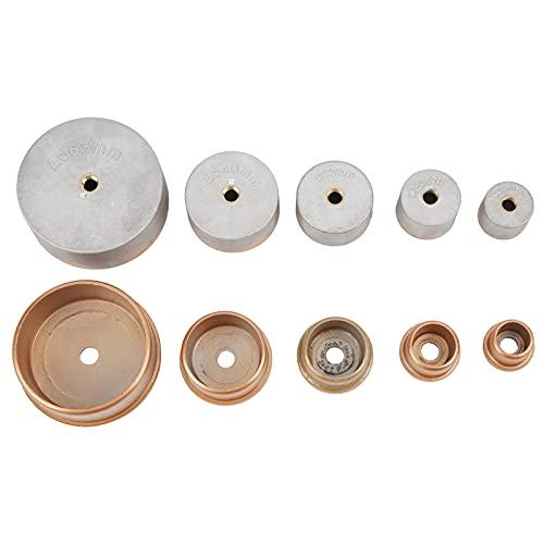 Ladieshow Accesorios de troquel de tubo PPR de máquina de fusión en caliente de 10 piezas para diámetro de 63 mm/40 mm/32 mm/25 mm/20 mm